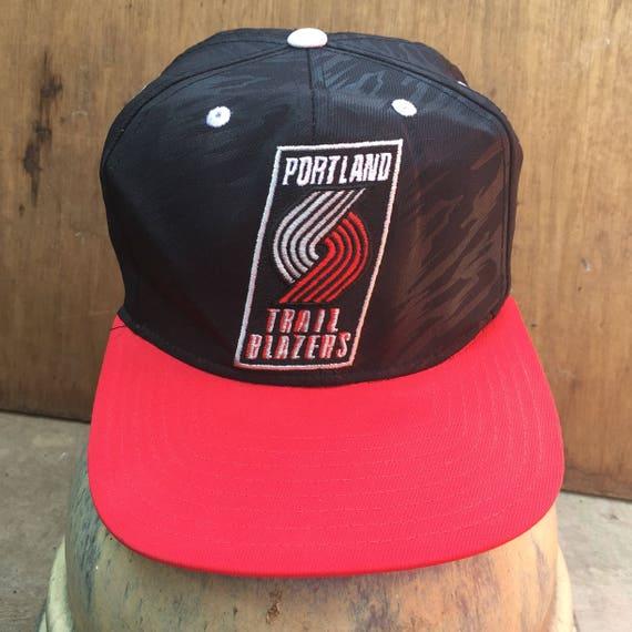db3d9ea69b3 Rare Vintage Portland Trail Blazers NBA   Adidas Hat Cap
