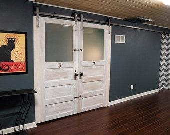 Double Barn Doors Etsy