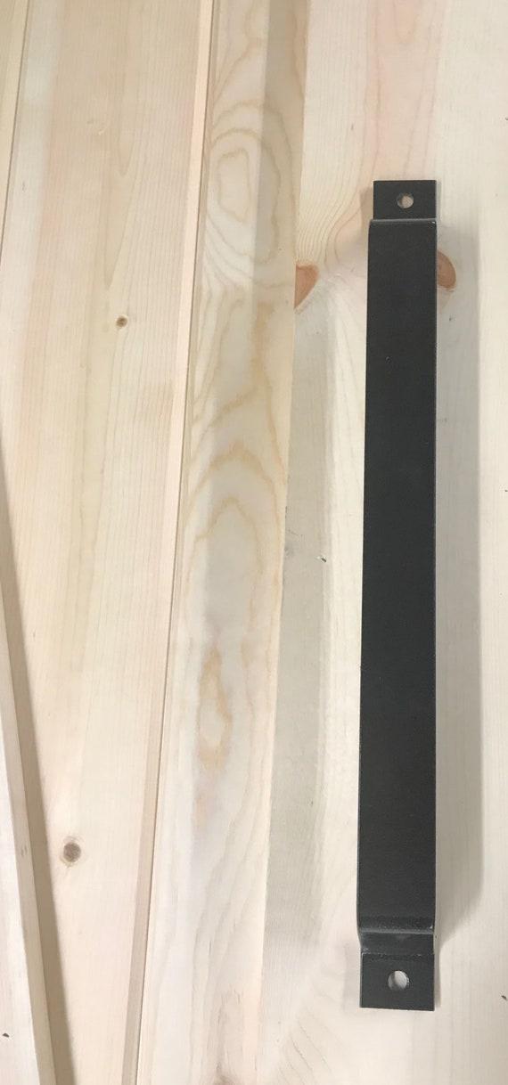 Barn Door Handle Bent Steel Bar Style Door Pull | Etsy