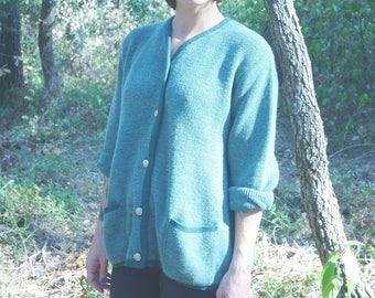Jacket Vintage 1980's knitwear Duger made in France