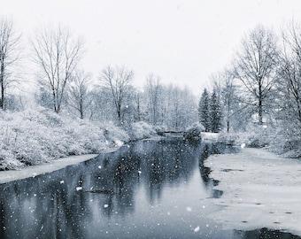 Winter Landscape | Edinboro, PA 8x10