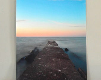 Sunset at Pier | Huntington Beach 8x10, 16x20