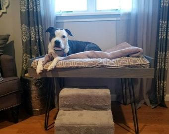 Raised Dog Bed Etsy