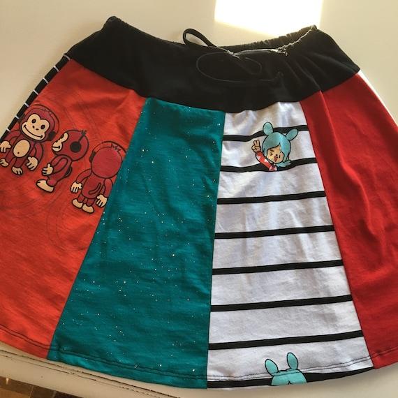 New York Attitude Drawstring Skirt size M