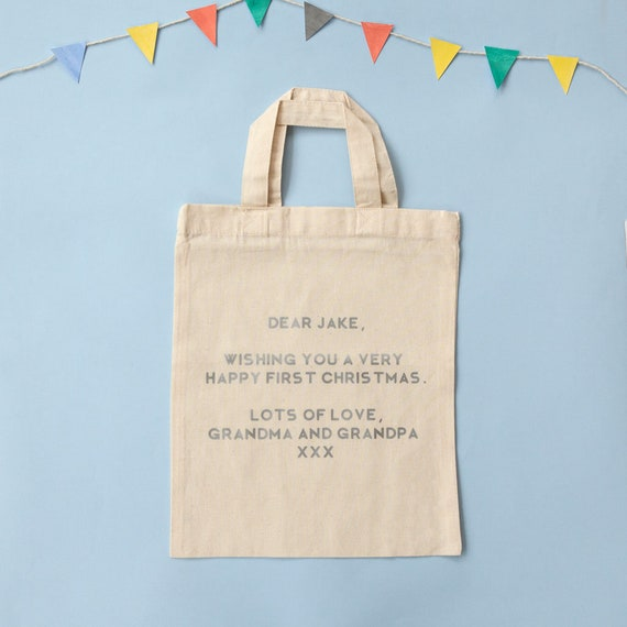 Personalised Gift Bag With Message