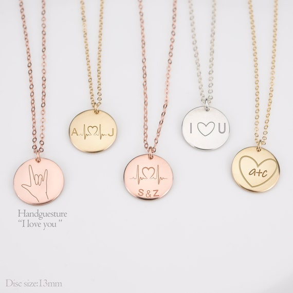 0 0 KIKISHOPQ Personalized Connection Custom 2 Names 2 Birth Stone Necklaces for Mothers Day