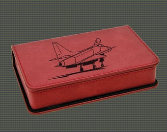 Leatherette Wine Tools Gift Set - Military Aircraft Designs