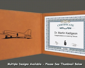 Certificate Holder - Military Aircraft Designs