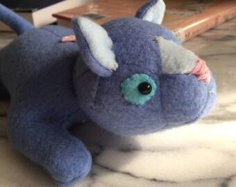 Warrior Cats Bluestar Beanie Plush--Blue Cat Stuffed Animal