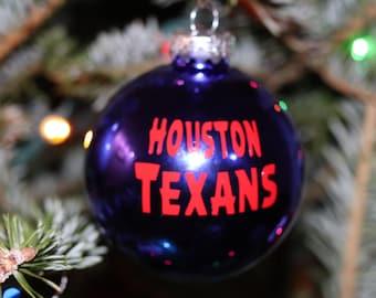 Houston Texans- Christmas Ornament