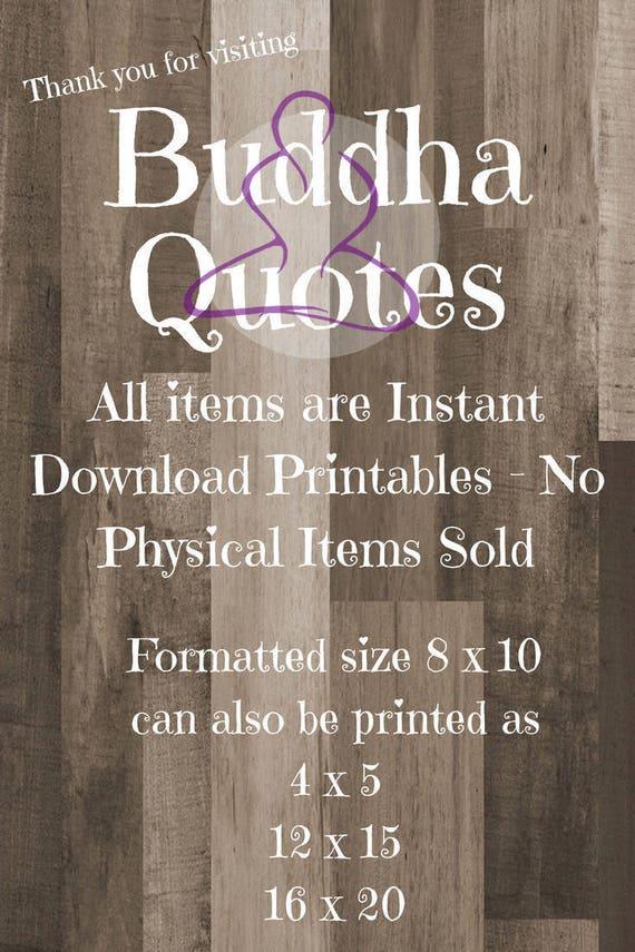 Buddha Quotes Law Of Attraction Print Printable Buddha Etsy