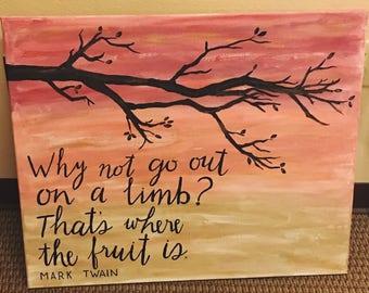 Classroom Custom Quote Canvas