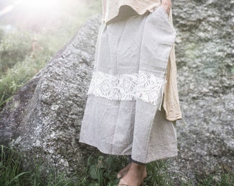 Cozy skirt from khadi cotton