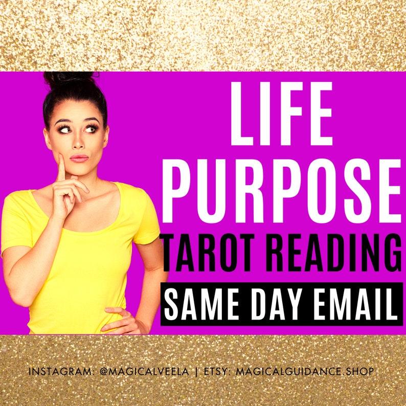 Life Purpose Reading Life Path Tarot Reading Career Reading image 0