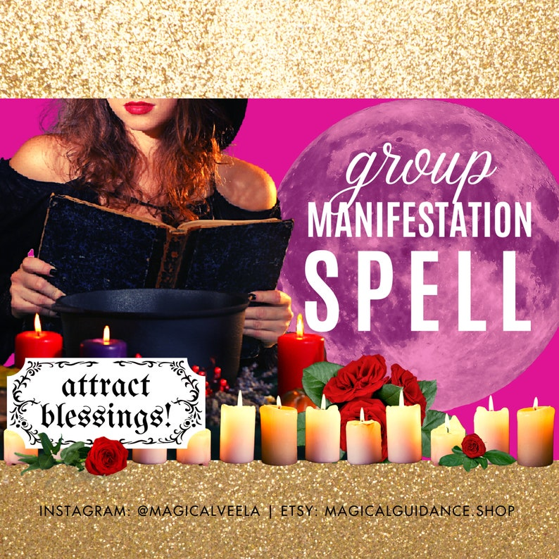 Manifestation Spell  Money Magnet Magick Attract  Increase image 1