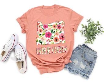 50e43533199 Oregon t shirt | Etsy