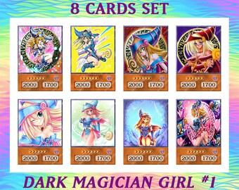 DARK MAGICIAN GIRLUltra Rare HOLO FOIL Oric-xx002 CUSTOM NAKED YUGIOH Orica