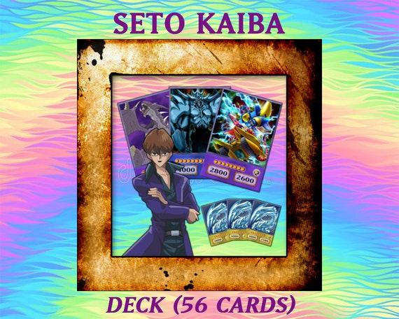 Proxy SETO KAIBA Deck 56 cards Yugioh Orica