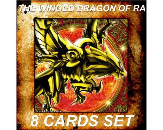 Yugioh Orica Anime The Winged Dragon de Ra Set de 8 cartes