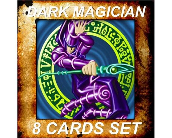 Yugioh Orica Anime sombre magicien lot de 8 cartes