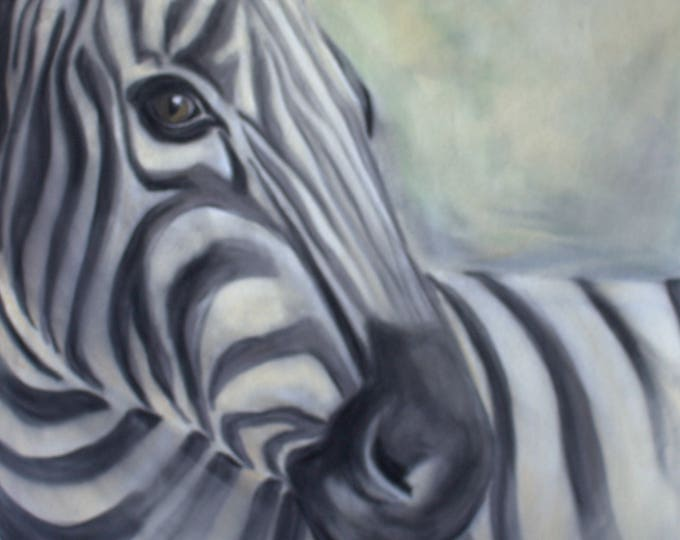 Zebra Wall Art - beautiful gift for Zebra lovers. Great Zebra art print. Animal print. Striped art. Black and white. Animal art print.