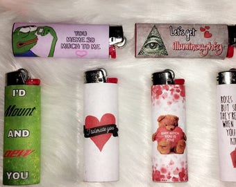 Funny Valentines Lighter - perfect gift for him or her!