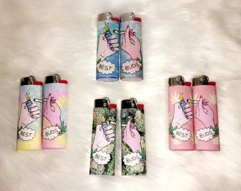 Best Buds Lighter Pair! - Great gift for best friends