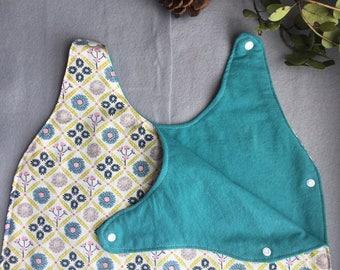Baby Girl sleep sack sleeper bag floral vintage