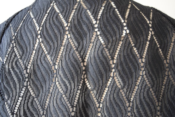 Japanese Kimono robe black kimono robe kimono Jac… - image 7