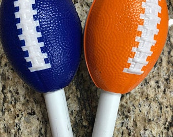1 Extra Spindle with Large Football for a  Cuptisserie, Mugtisserie Turner or epoxying Glitter Cup Turner
