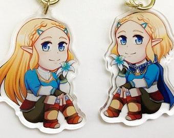 Short Hair Zelda Etsy