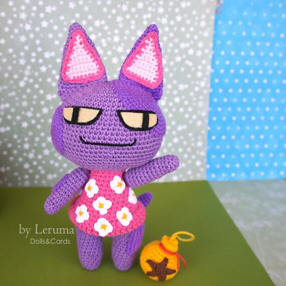 Image of: Bob Fanart Image Etsy Made To Order Bob De Kat Pluche Animal Crossing Animal Etsy