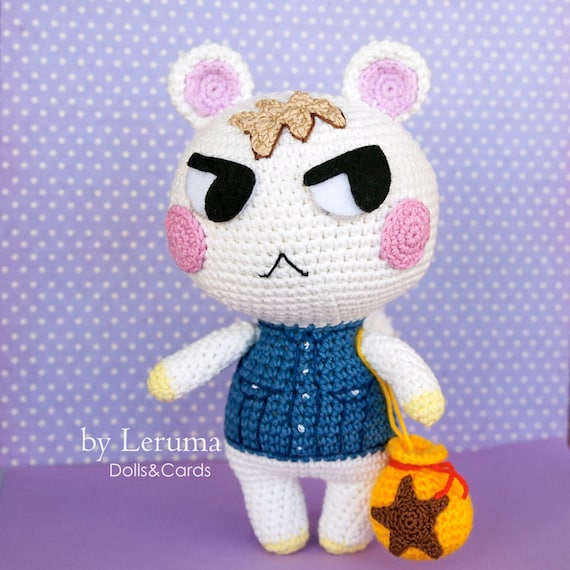 Made To Order Marshal Animal Crossing Plush Marshal Villager Etsy