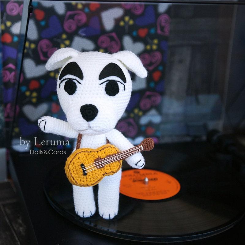 31c23342bdb090 MADE TO ORDER K.K. Slider Animal Crossing plush K.K. dog | Etsy