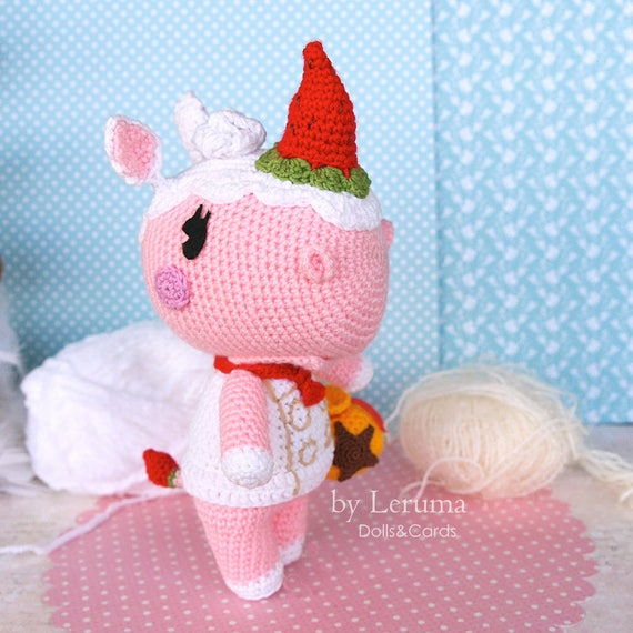 Made To Order Merengue Animal Crossing Animal Crossing Etsy