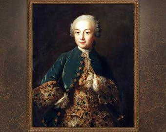 Custom Child Portrait, Boy Portrait, Victorian Portrait, Renaissance Portrait, Child Painting, Painting from photo!