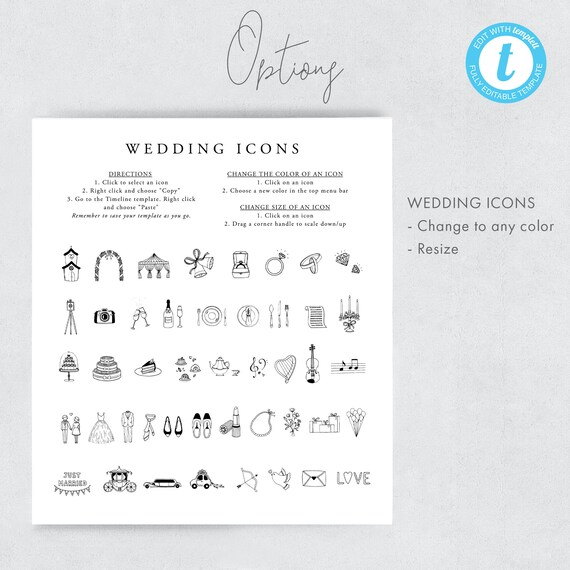 Wedding Timeline Template Marsala Wedding Day Itinerary Welcome Bag Note Wedding Schedule Printable Order Of Events Wedding Icon 12