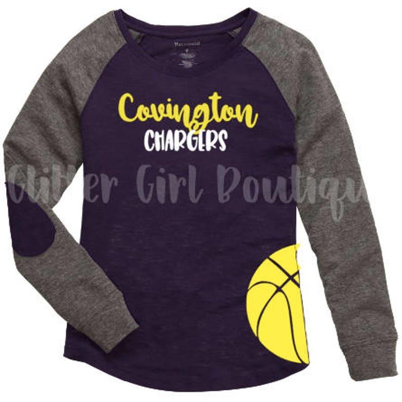 d0baf23ba Personalized Basketball Shirt Basketball Mom Shirt High