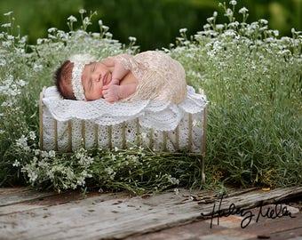 Newborn Digital Backdrop/Prop/Digital Background/Digital Crib Bed
