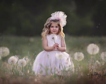 Instant Download! Digital Backdrop/Digital Background/Giant Dandelion/PSD Dandelion Overlay/Field/2x/Photography Prop