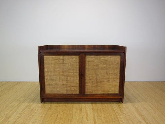Jack Cartwright For Founders Mid Century Walnut Sideboard   Etsy