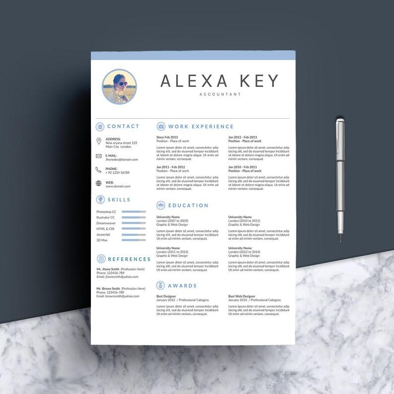 Teacher Resume CV Template Instant Download Resume Nurse Resume Clean Resume Template Creative Resume Mac Resume MS Word Resume