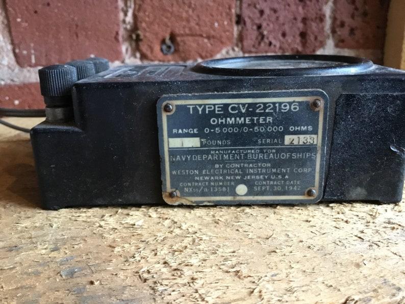 Vintage Ohmmeter model 689