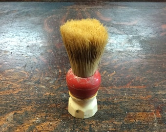 Red Shaving Brush