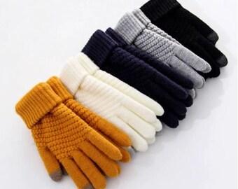Fashion Winter Unisex Touch Screen Gloves