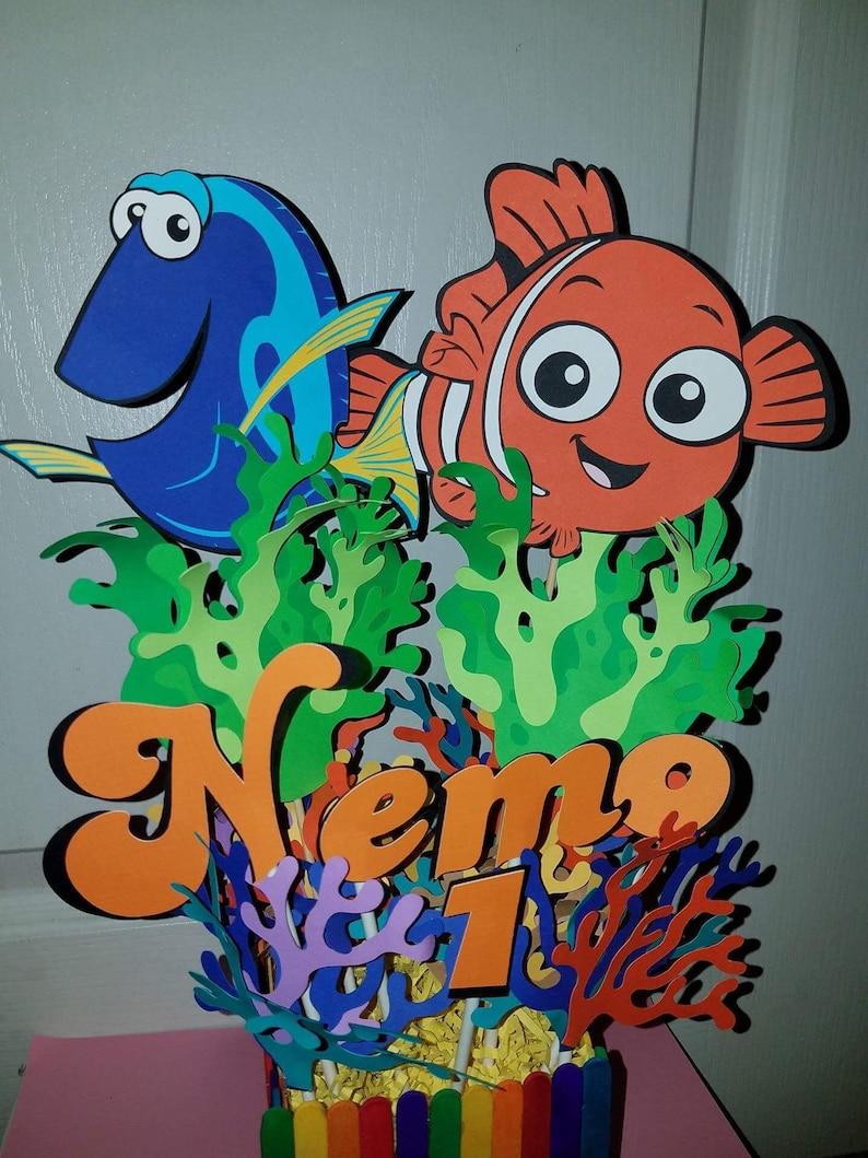 Finding Nemo And Dory Centerpiece Disney Centerpiece