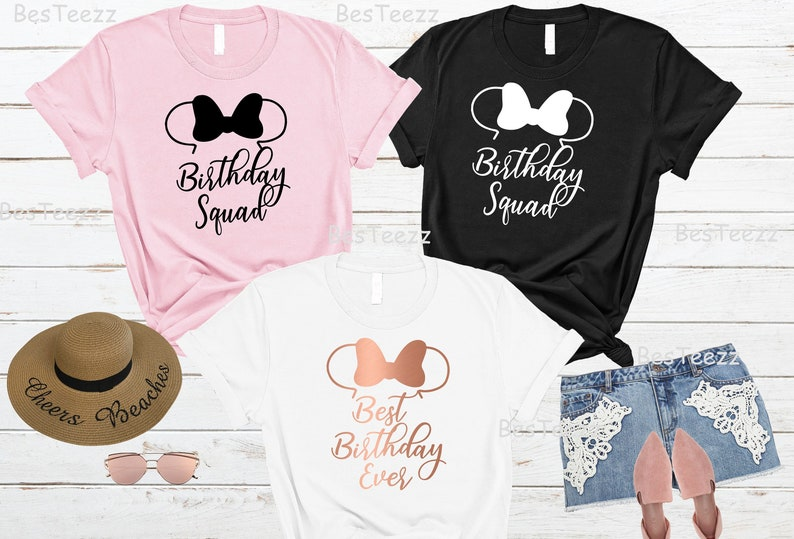 Disney Birthday Shirt Shirts