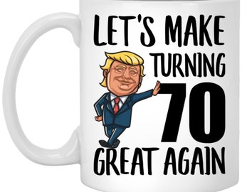 70th Birthday Gift For Men Dad 70 Year Old Gifts Born In 1959 Trump Mug