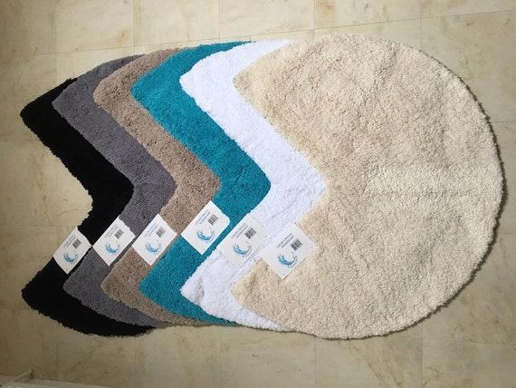 Microfibre Non Slip Circular Corner Shower Mat | Etsy