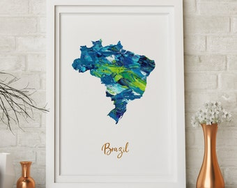 Brazil art | Etsy